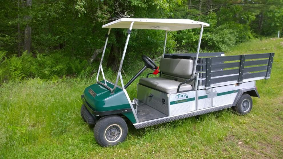 2002 Club Car Carryall/Turf 6 GAS $3999