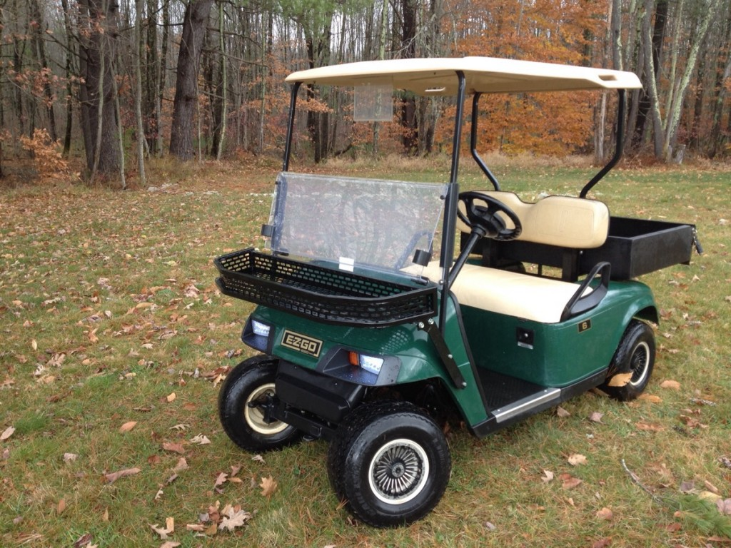 2007 EZGO Gas Golf/Utility Cart $2999