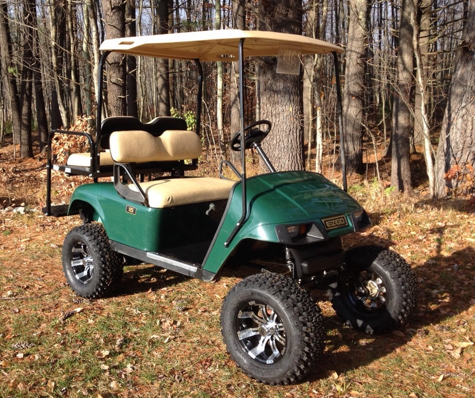 2007 EZGO Gas w/Lift Kit $3999