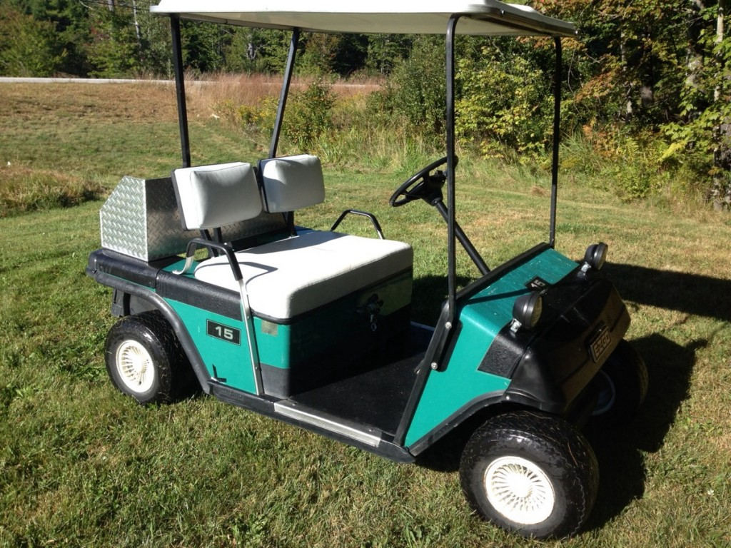 EZGO Marathon Gas Golf Cart Like NEW! – $1700