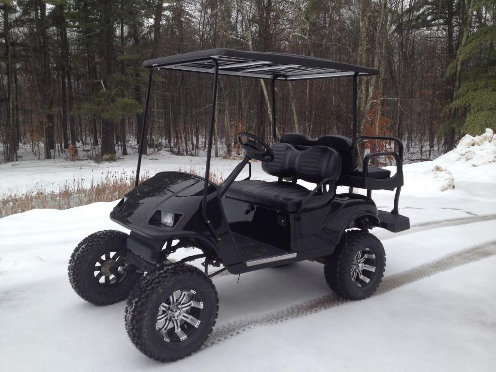 EZGO Custom Gas Cart $5200
