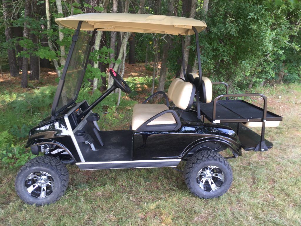 Rear Fold Down Seat For  Club Car Ds