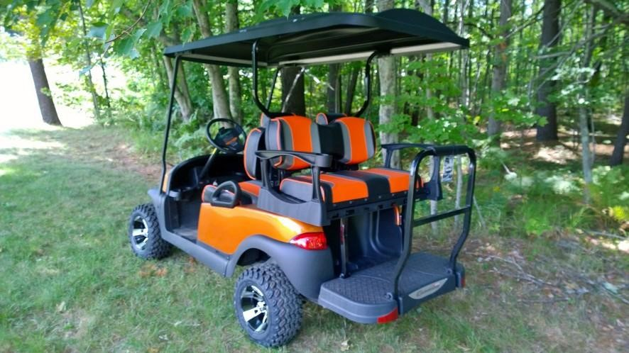 Metallic Atomic Orange Custom Lifted $5995