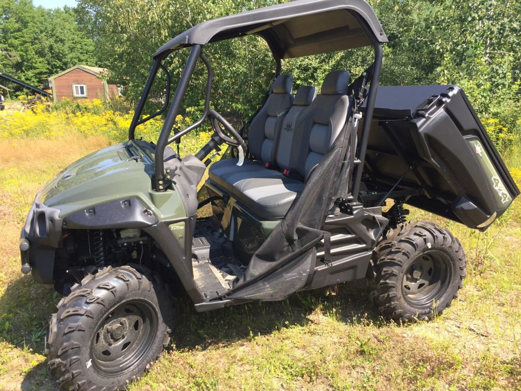 Intimidator UTV Green 750 base-8