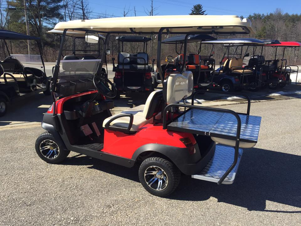 NEW Limited Edition Snap On Red Electric Golf Cart $5995