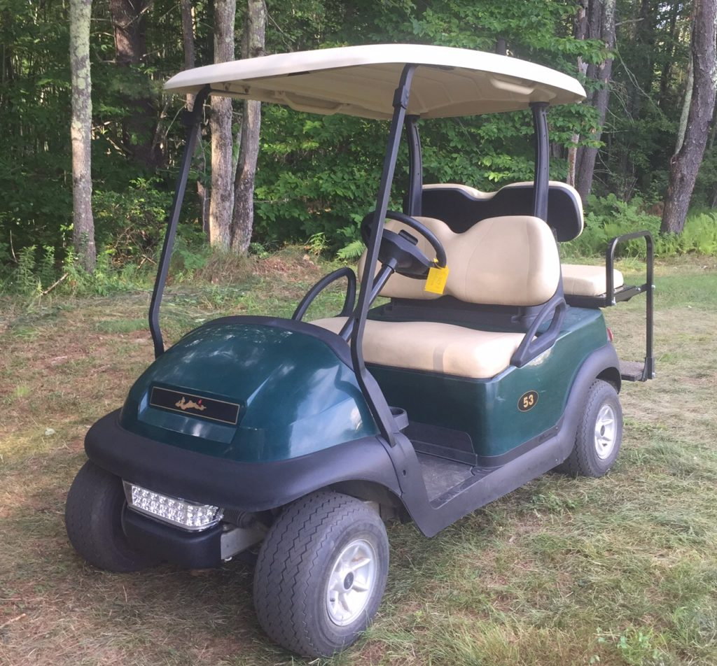 $2999 Special! Club Car Precedent 4 Pass Golf Cart