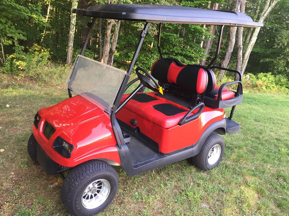 2014 Club Car Precedent with 2015 batteries. $5750